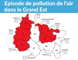 Pic de pollution de l'air dans l'Aube