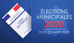 Élections municipales : report du 2e tour